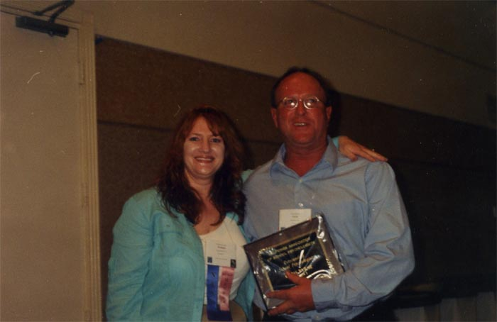 Melinda and Chris Byrne, 2004